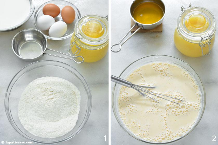 Far breton Rezept französischer Backpflaumenkuchen Beurre noisette Zubereitung1