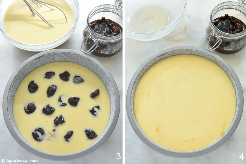 Far breton Rezept französischer Backpflaumenkuchen Zubereitung 2