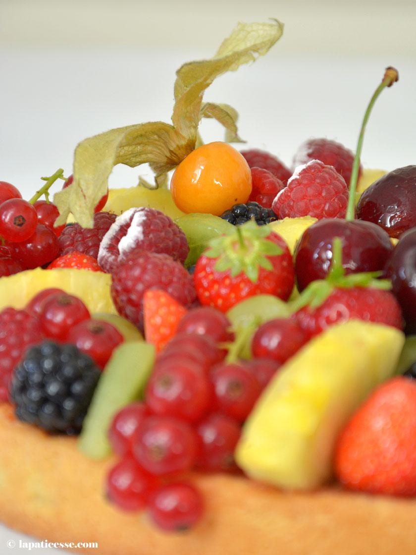 Früchtetarte Rezept Tarte Corbeille de fruits Törtchen