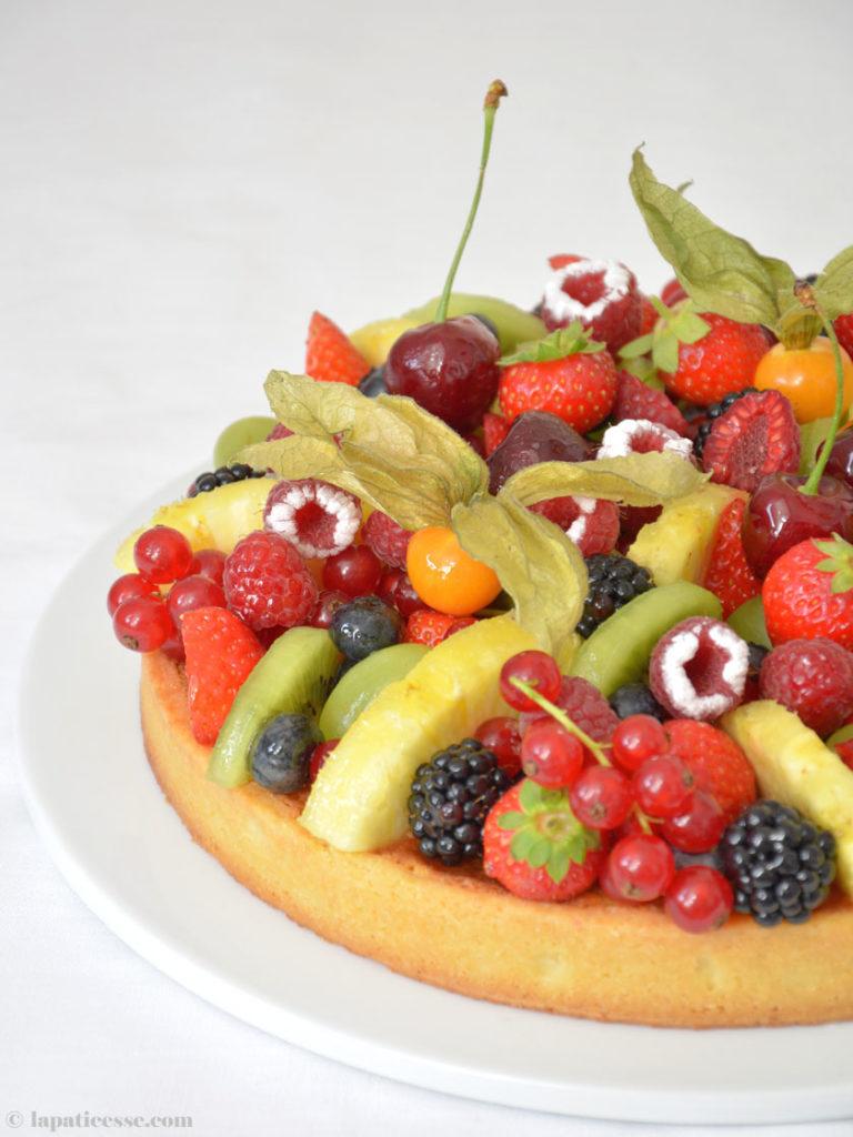 Patisserie Früchte-Tarte Rezept Tarte Corbeille de fruits Rezepte