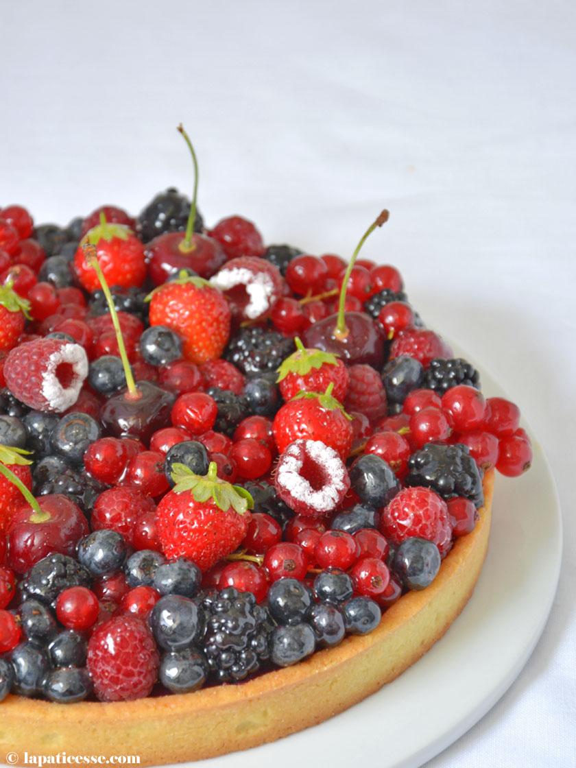 Tarte aux fruits rouges Rezept Rote Früchte-Tarte Patisserie