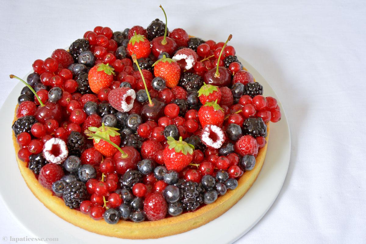 Tarte aux fruits rouges Rezept Rote Früchte-Tarte