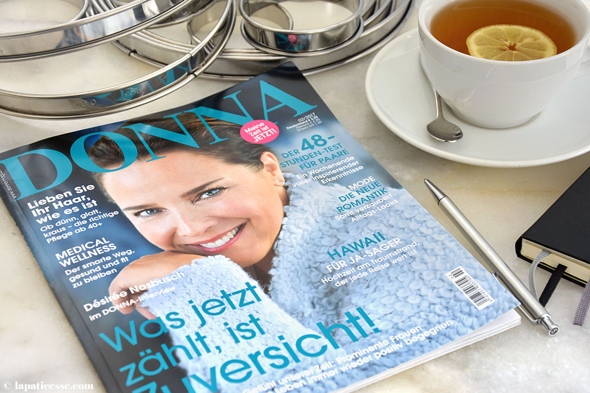 La Pâticesse Donna Magazin 02 2017 Rezepte und Interview