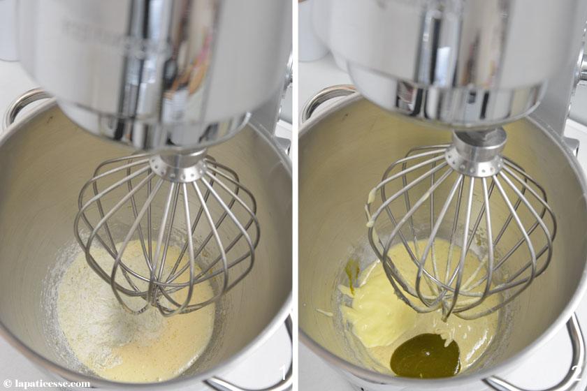 Nuage Ispahan Entremets Cloud Silikomart Rezept Champagner Himbeer Litschi Zubereitung 1-2