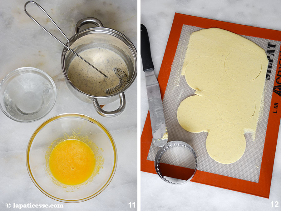 Oeufs blanc de Pâques Weiße Ostereier Zubereitung 6
