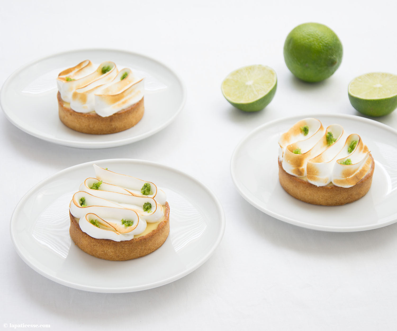 Limettentarte mit Basilikum Rezept Tarte au citron vert basilic