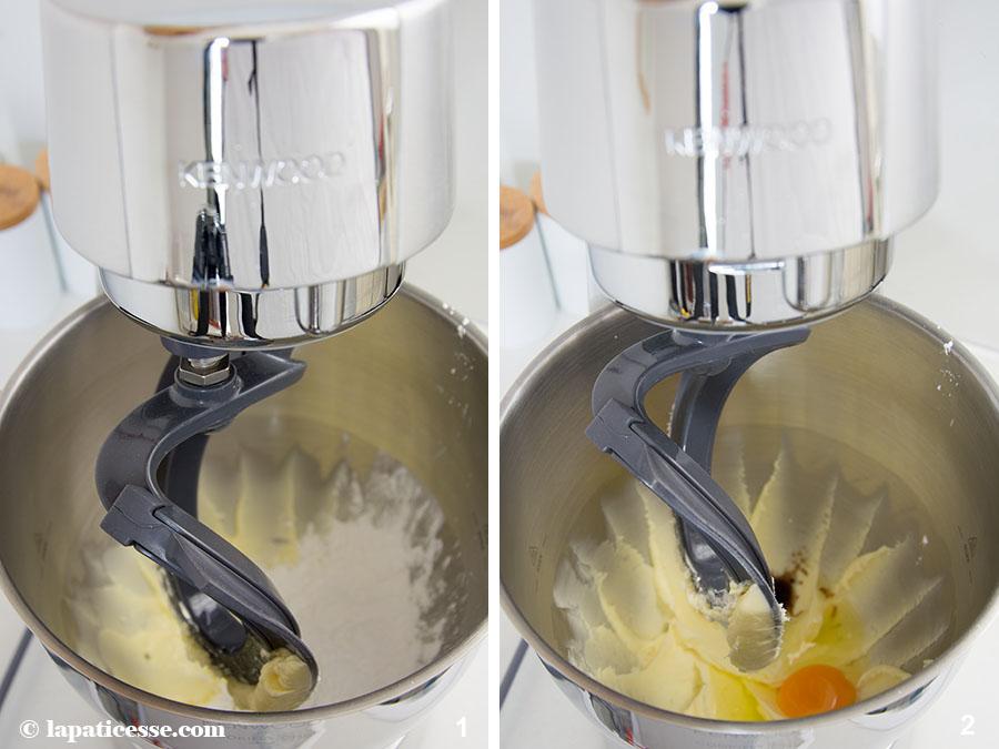 Limettentarte mit Basilikum Tarte au citron vert et basilic Zubereitung 1-2