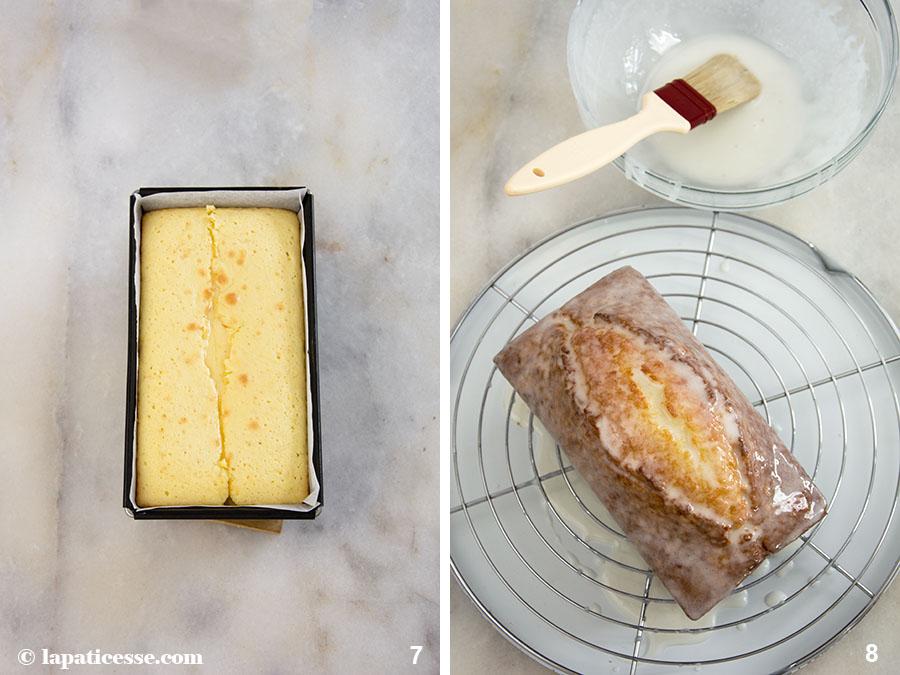 Cake au citron Rezept Kastenkuchen Tipps Zitronenkuchen Zubereitung 7-8