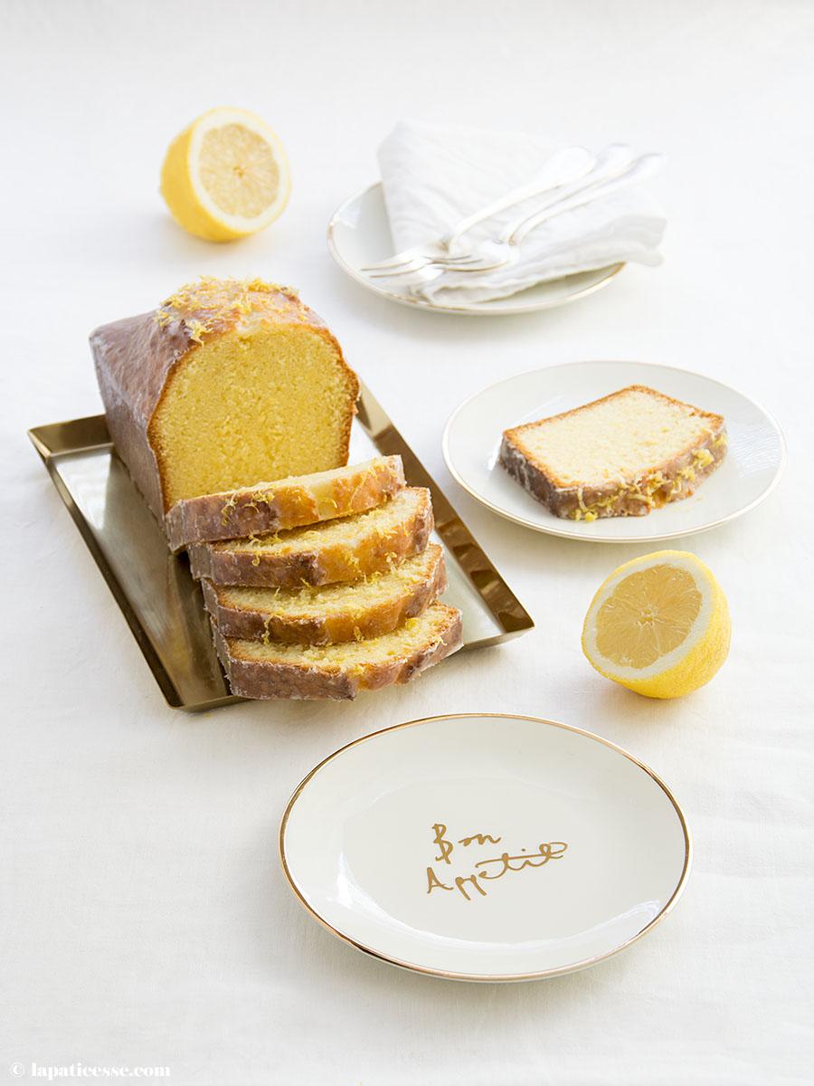 Cake au citron Rezept Zitronenkuchen Patisserie Blog La Pâticesse