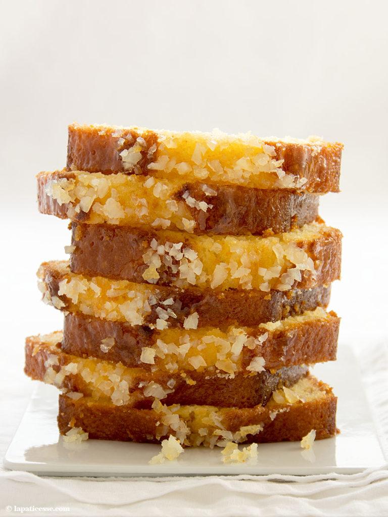 Zitronenkuchen Pierre Hermé Rezept Cake au citron Kastenkuchen Zitrone