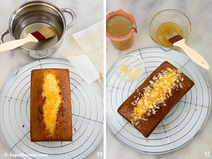 Zitronenkuchen Pierre Hermé Rezept Cake au citron Kastenkuchen Zubereitung 11-12