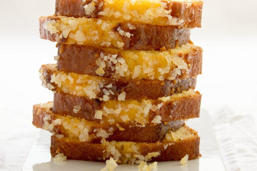 Zitronenkuchen Pierre Hermé Rezept Cake au citron Kastenkuchen Zitrone 1