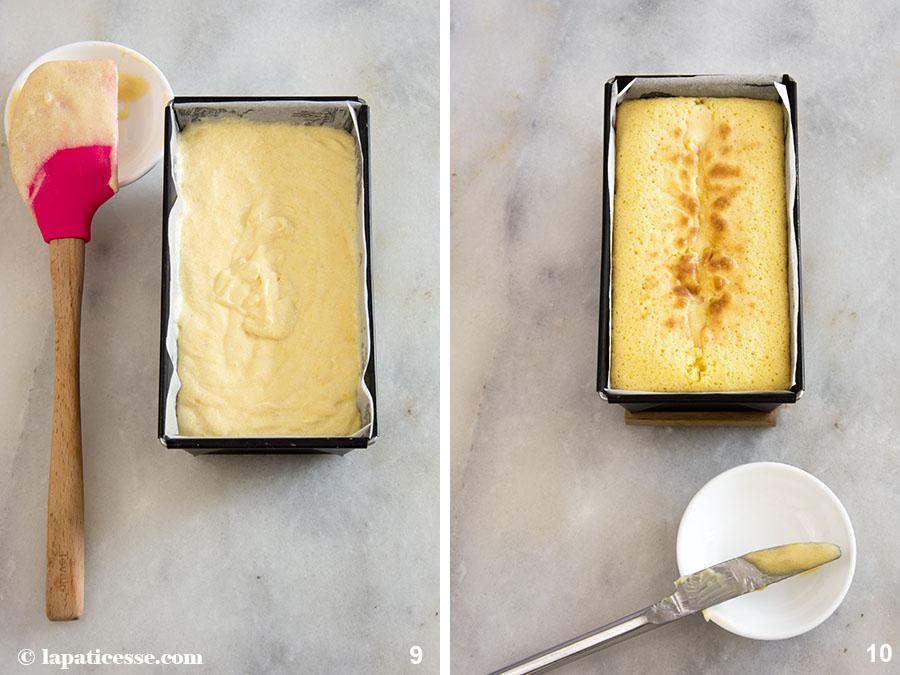 Zitronenkuchen Pierre Hermé Rezept Cake au citron Kastenkuchen Zubereitung 9-10
