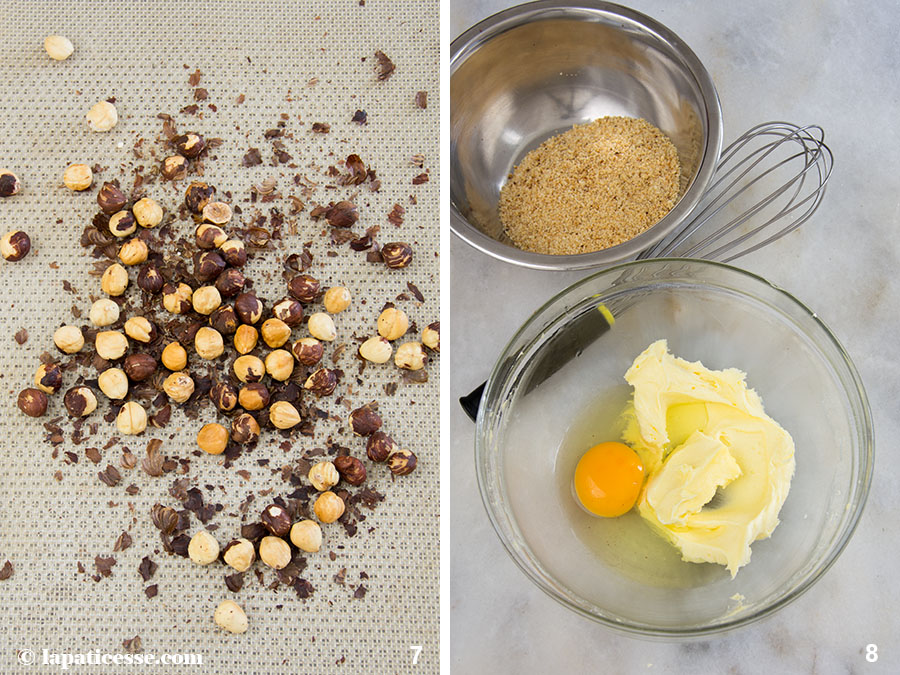 Feigen-Tarte Rezept mit Himbeeren Tarte aux figues et framboises Zubereitung 7-8