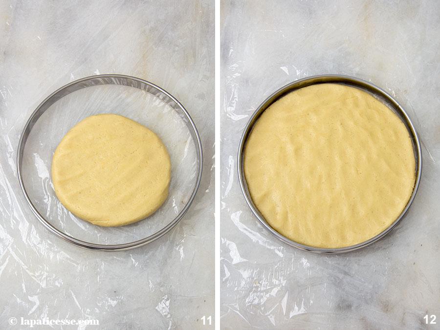 Pâte sucrée Rezept feiner französischer Mürbeteig Mandeln Cremage Küchenmaschine Zubereitung 11-12