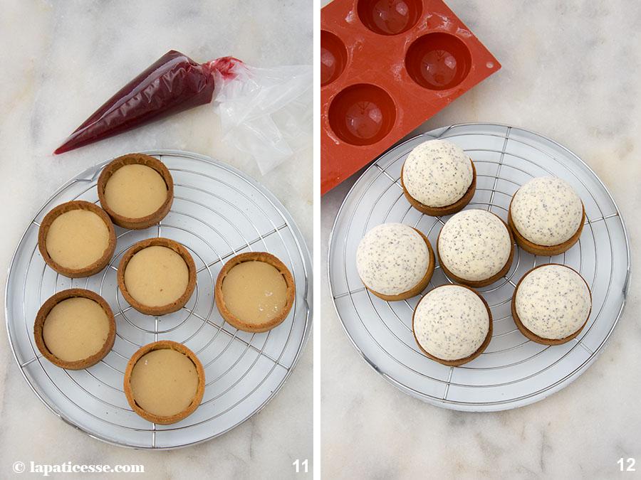 Pflaumen Tartelettes Rezept Mohn Mousse Marzipan Zubereitung 11-12
