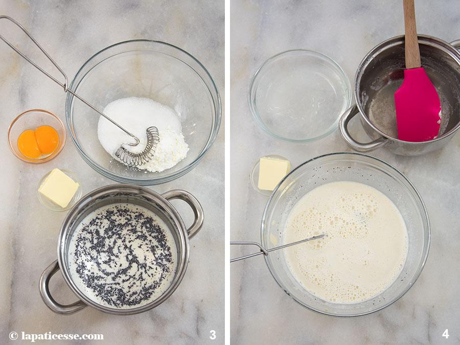 Pflaumen Tartelettes Rezept Mohn Mousse Marzipan Zubereitung 3-4