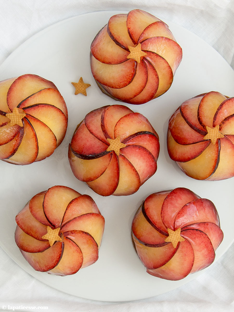 Pflaumen Tartelettes Rezept mit Mohn Mousse Sterne