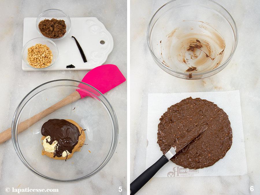 Schoko-Erdnuss-Torte Rezept Entremets très gourmand Croustillant Zubereitung 5-6
