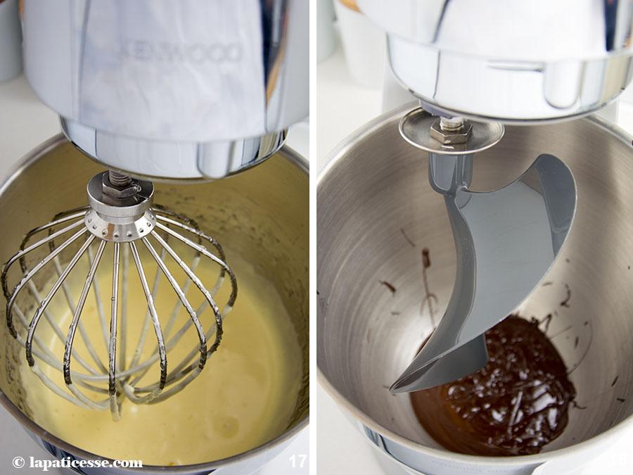 Schoko-Erdnuss-Torte Rezept Entremets très gourmand Mousse au chocolat Zubereitung 17-18