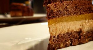 Torte Erdnuss