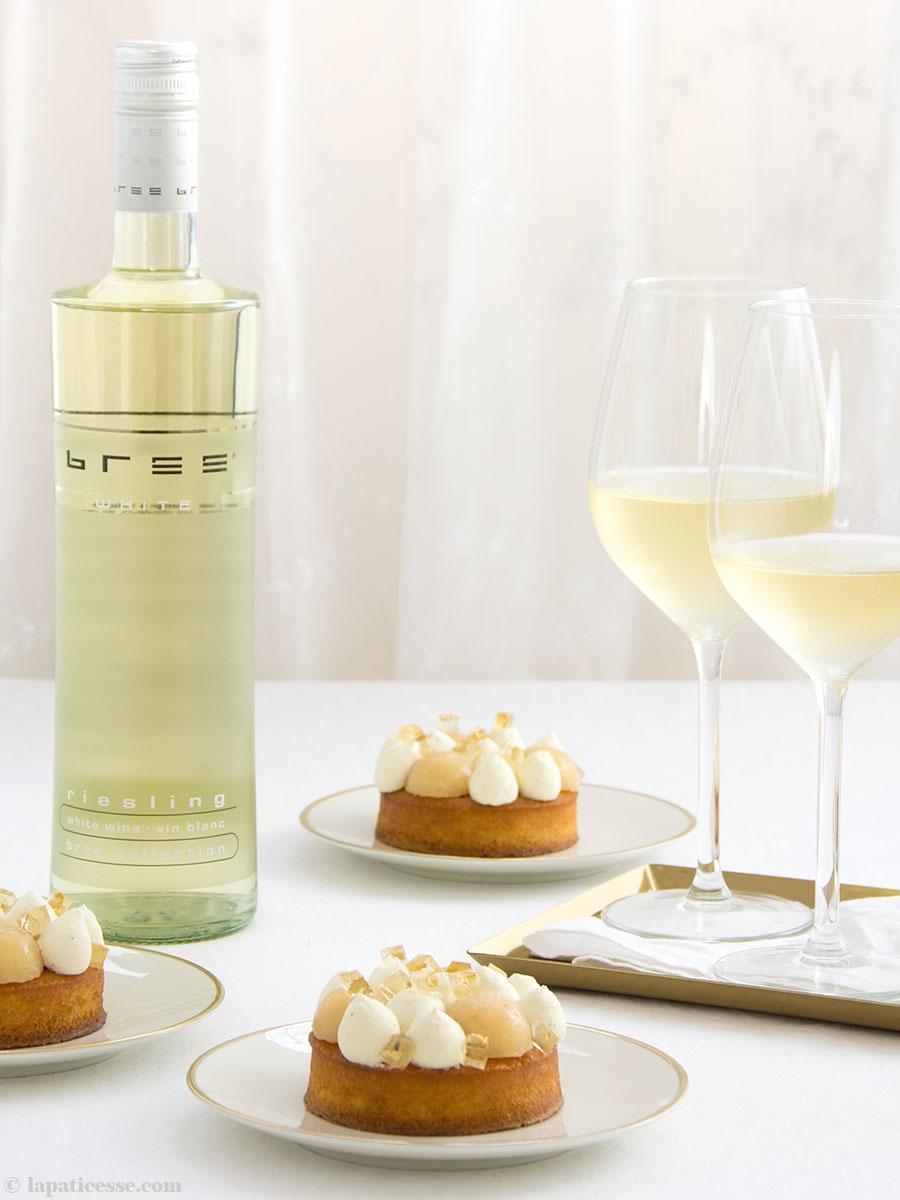 Quitten-Tartelettes Tarte Rezept Riesling Bree Wein