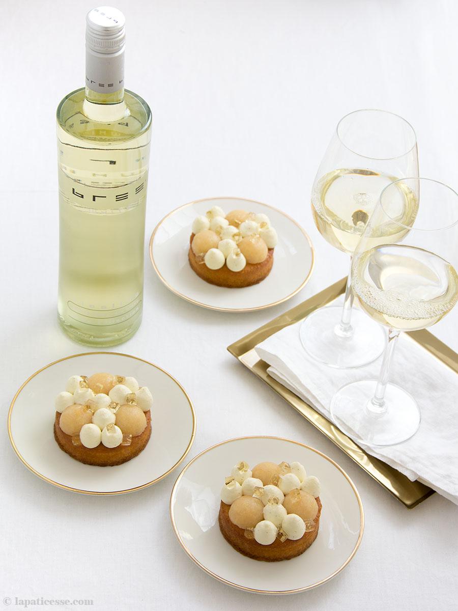 Quitten-Tartelettes Tarts Rezept Riesling Bree Wein