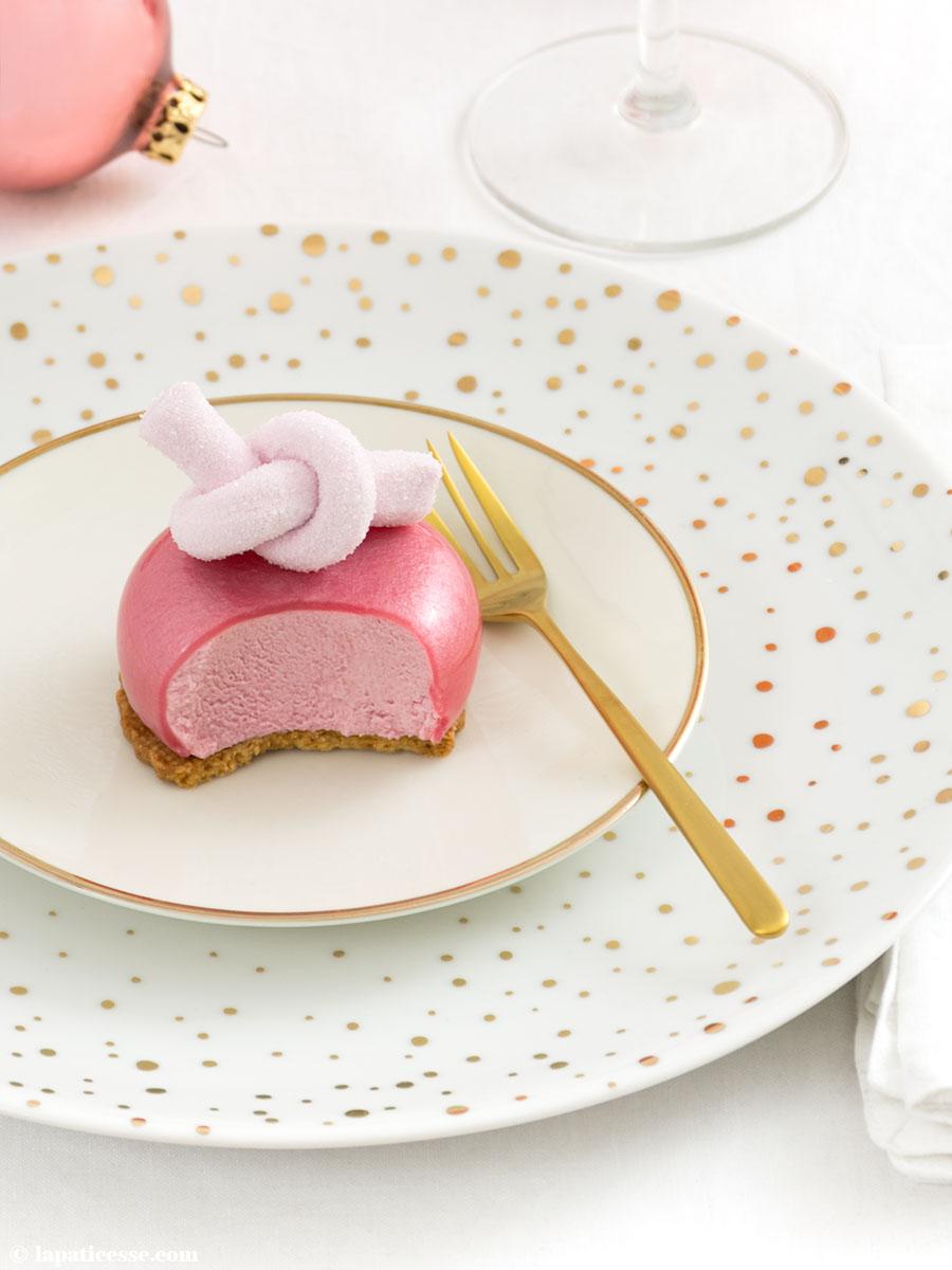 Beeren-Törtchen Rezept Petits gâteaux aux fruits rouges Waldrüchte Mirror Glaze