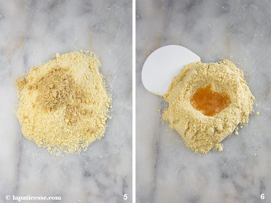 Nuss-Tartelettes Rezept Karamell Zubereitung 3