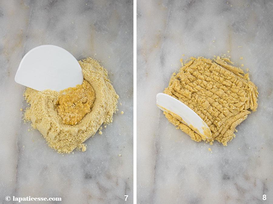 Nuss-Tartelettes Rezept Karamell Zubereitung 4