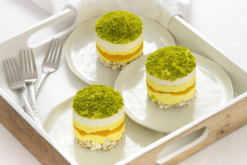 Törtchen mit Golden Milk Rezept Mango Pistazien 2