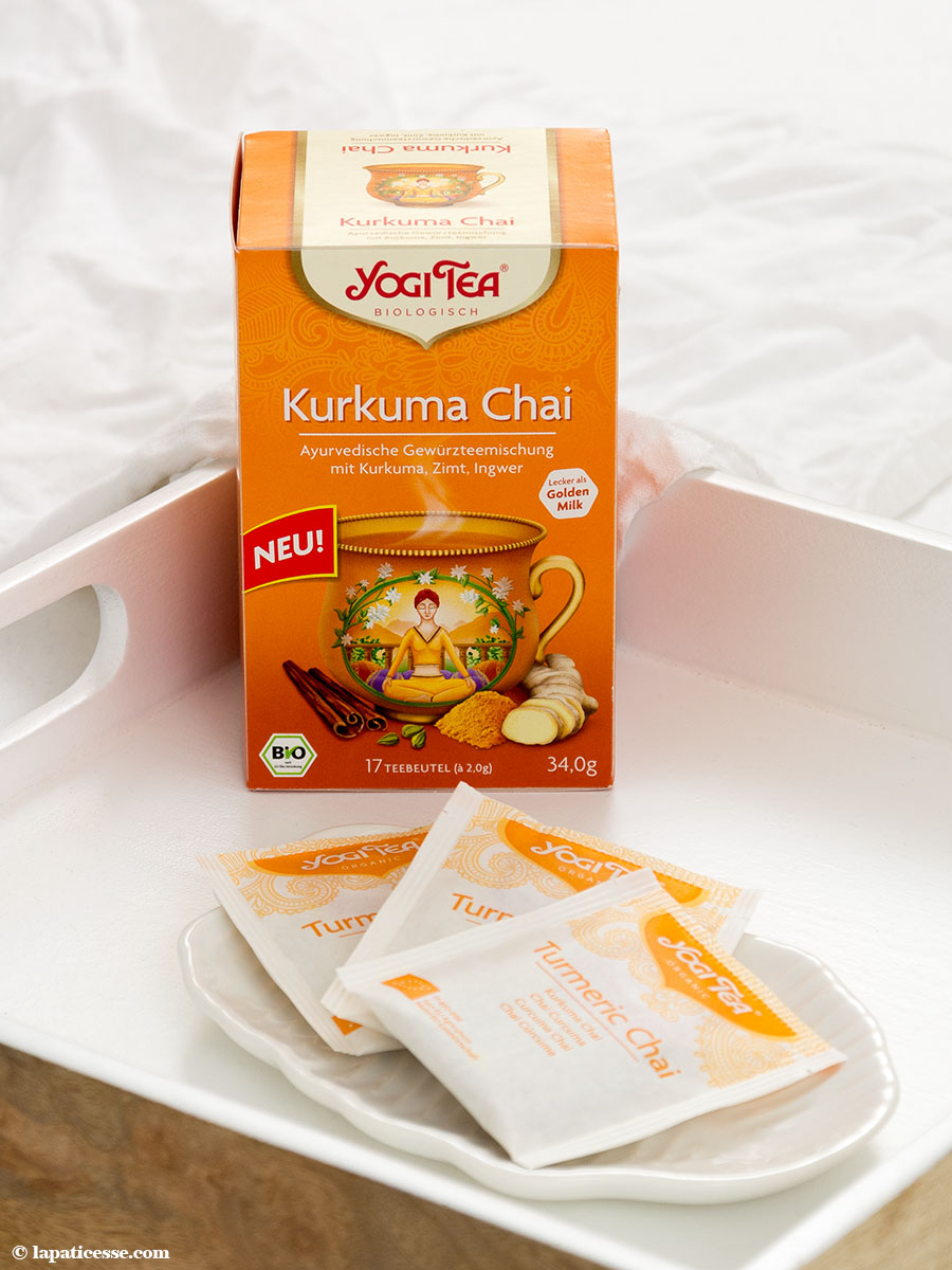 Törtchen Golden Milk YOGI TEA Kurkuma Chai