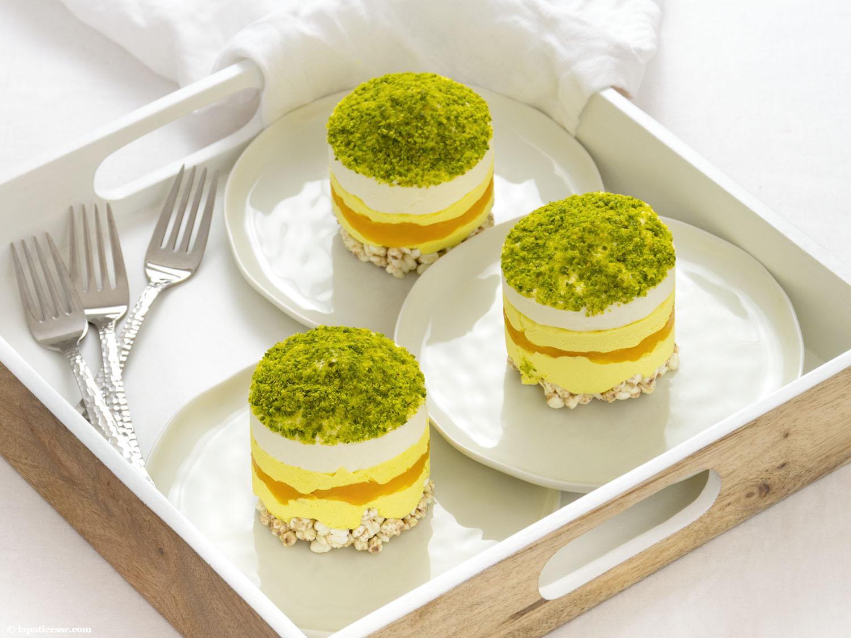 Petits Gâteaux au Lait d'or Törtchen mit Golden Milk von YOGI TEA - La Pâticesse - Der Patisserie Blog