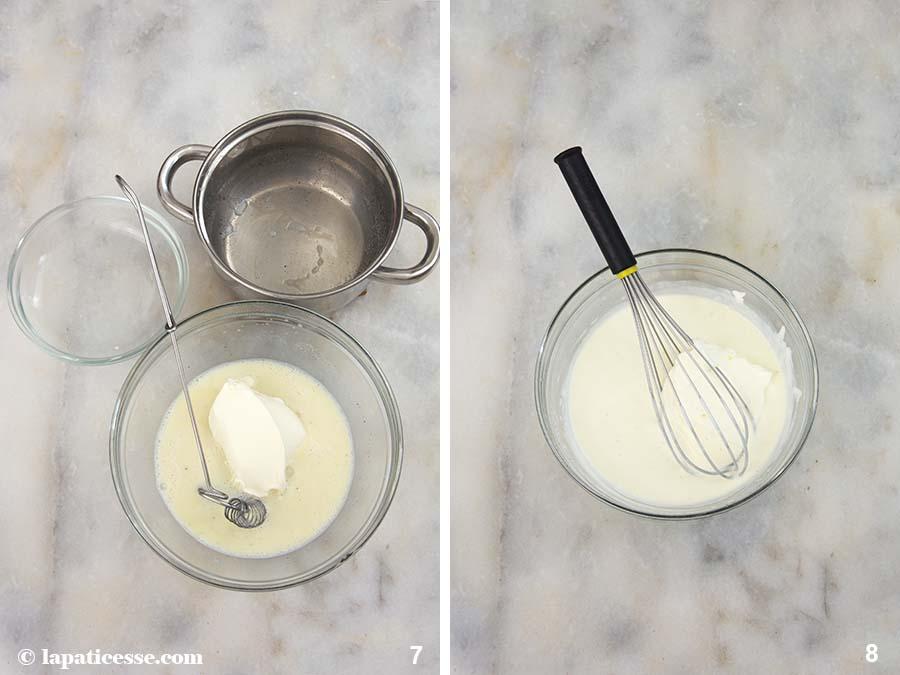 Rhabarber Törtchen Vanille Mousse Zubereitung 7-8