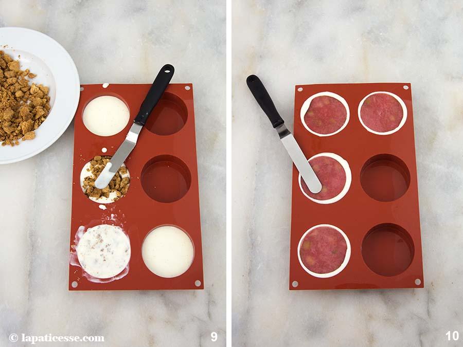 Rhabarber Törtchen Vanille Rezept Zubereitung 9-10