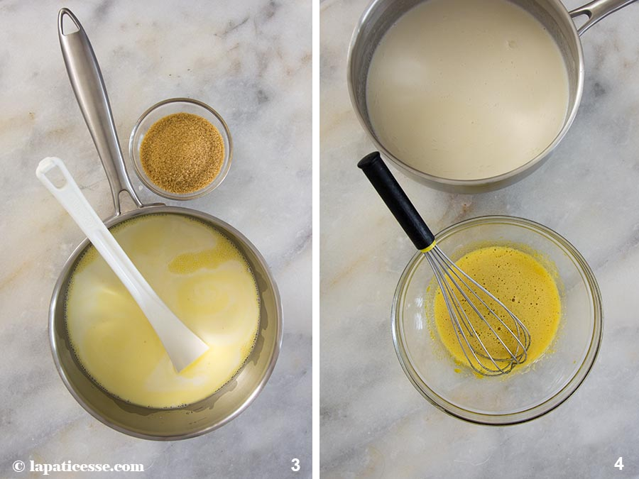 Zitronentarte Eis Rezept Lemoncurd Zubereitung 3-4
