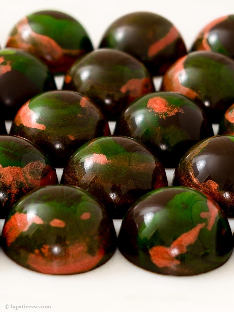 Gin-Pralinen Bonbons Chocolat Rezept