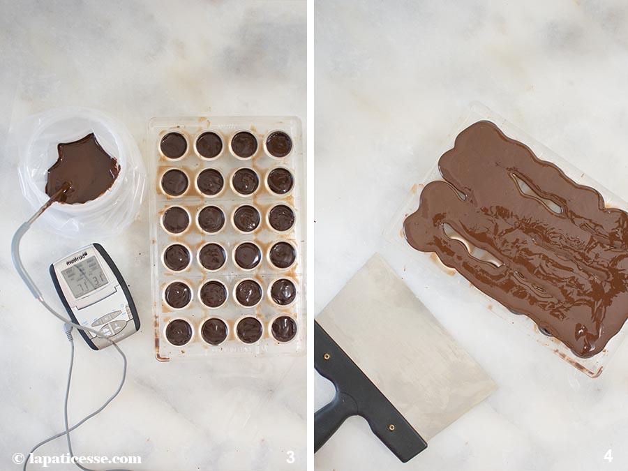 Gin-Pralinen Chocolate Bonbons Rezept Zubereitung 2