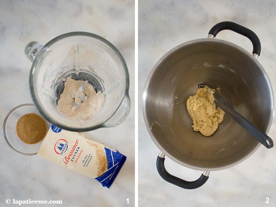 Sternschnuppen-Plätzchen Rezept Weihnachtsbäckerei Diamant Zucker