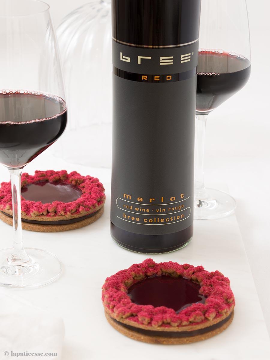 Linzer Plätzchen Torte Bree Wein