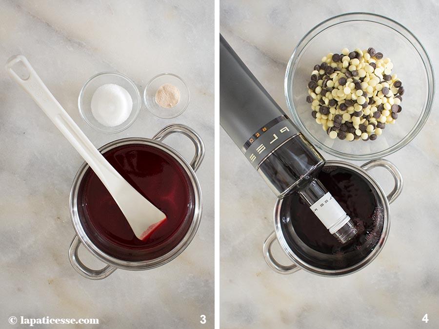 Rezept Rotwein Ganache Linzer Konfitüre Bree Wein