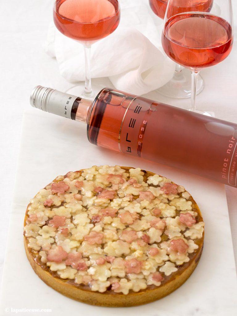 Apfel-Rhabarber-Tarte Rezept Bree Wein