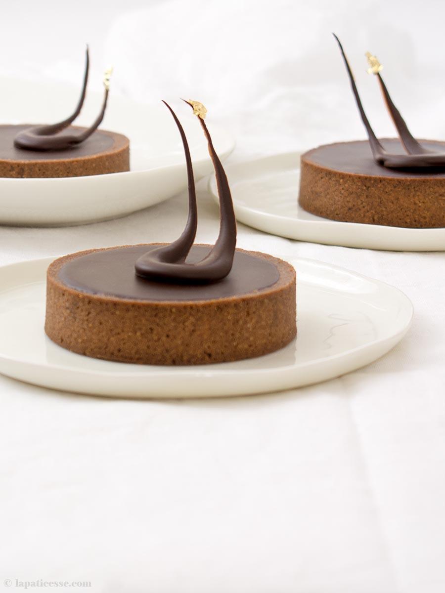 Tartelettes au chocolat Rezept Schokoladentarte Van Gogh An der Schwelle zur Ewigkeit
