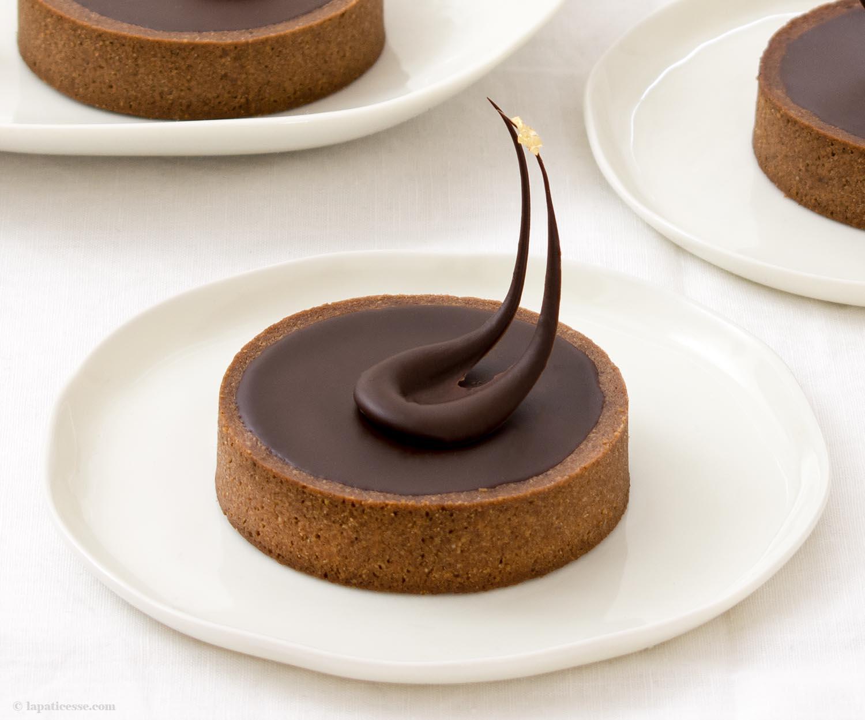 Tartelettes au chocolat Van Gogh - An der Schwelle zur Ewigkeit - La Pâticesse - Der Patisserie Blog