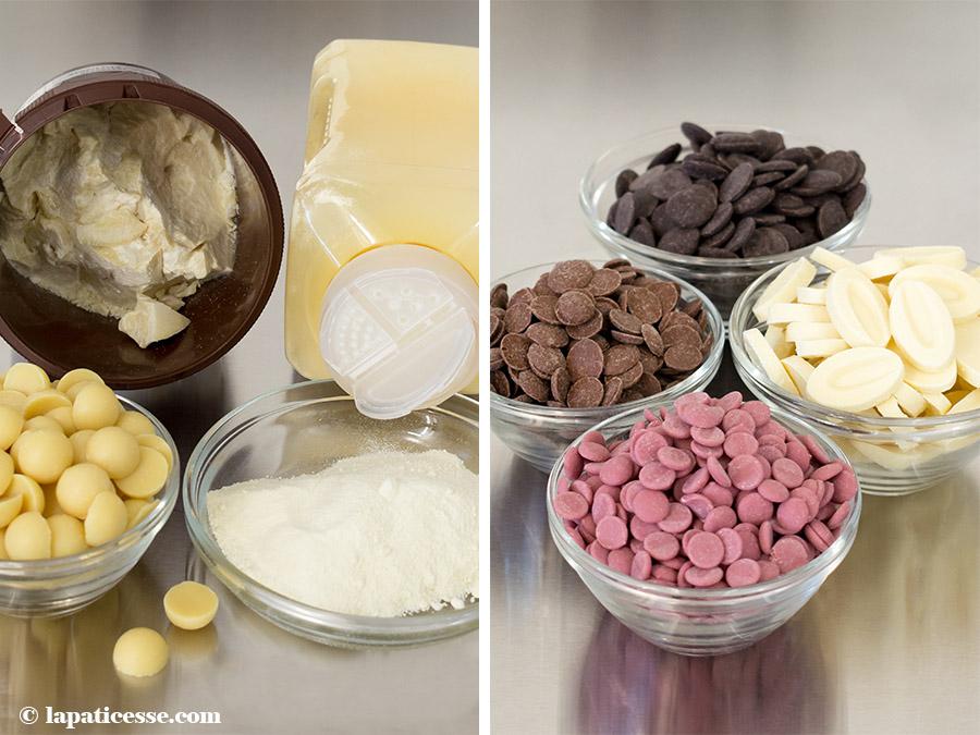 Kakaobutter Schokolade sprühen Velvet-Effekt