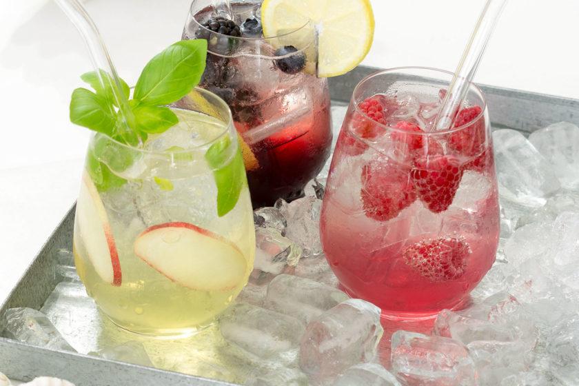 Weinlimonade Rezept Weinsirup Riesling Merlot Rose Pinot Noir