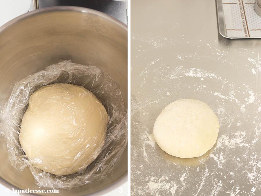 Brotschüssel Buns Hefeteig Rezept Zubereitung 2