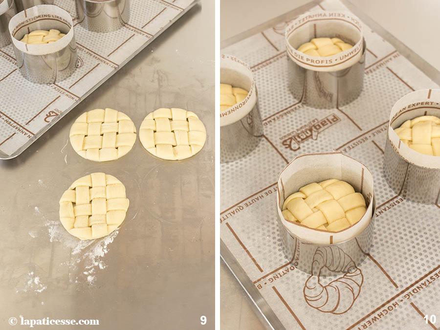 Brotschüssel Herbstsalat Buns Gitter Rezept Zubereitung 5