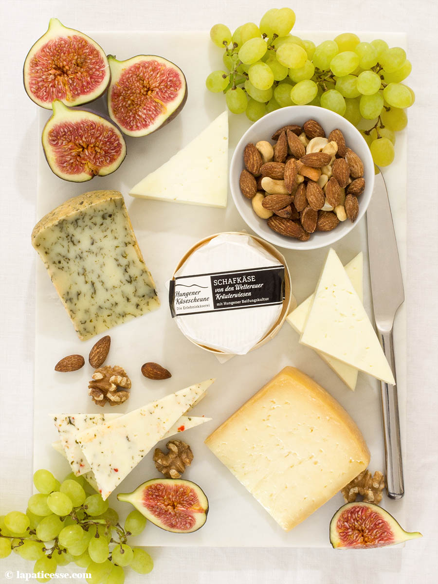 Hungener Käsescheune Schafskäse Käseplatte Rezept