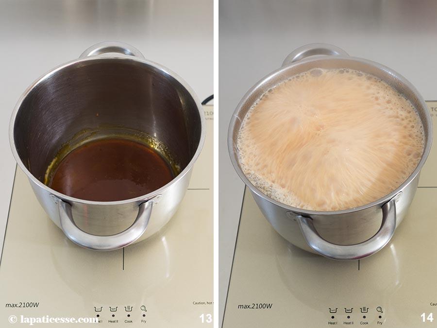 Karamell Sahne Rezept Zubereitung 13-14